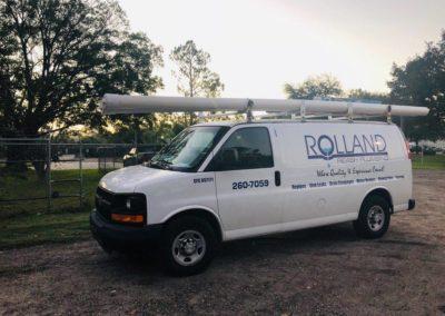 Rolland Reash Plumbing Truck