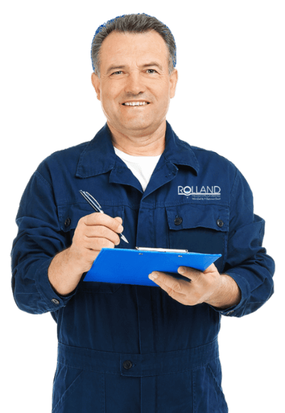 Rolland Reash Plumber Holding a clipboard